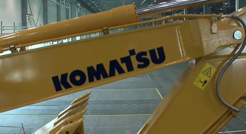 Презентационный фильм KOMATSU