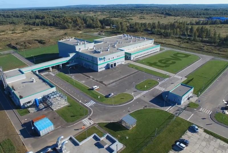 Фармацевтический завод TEVA